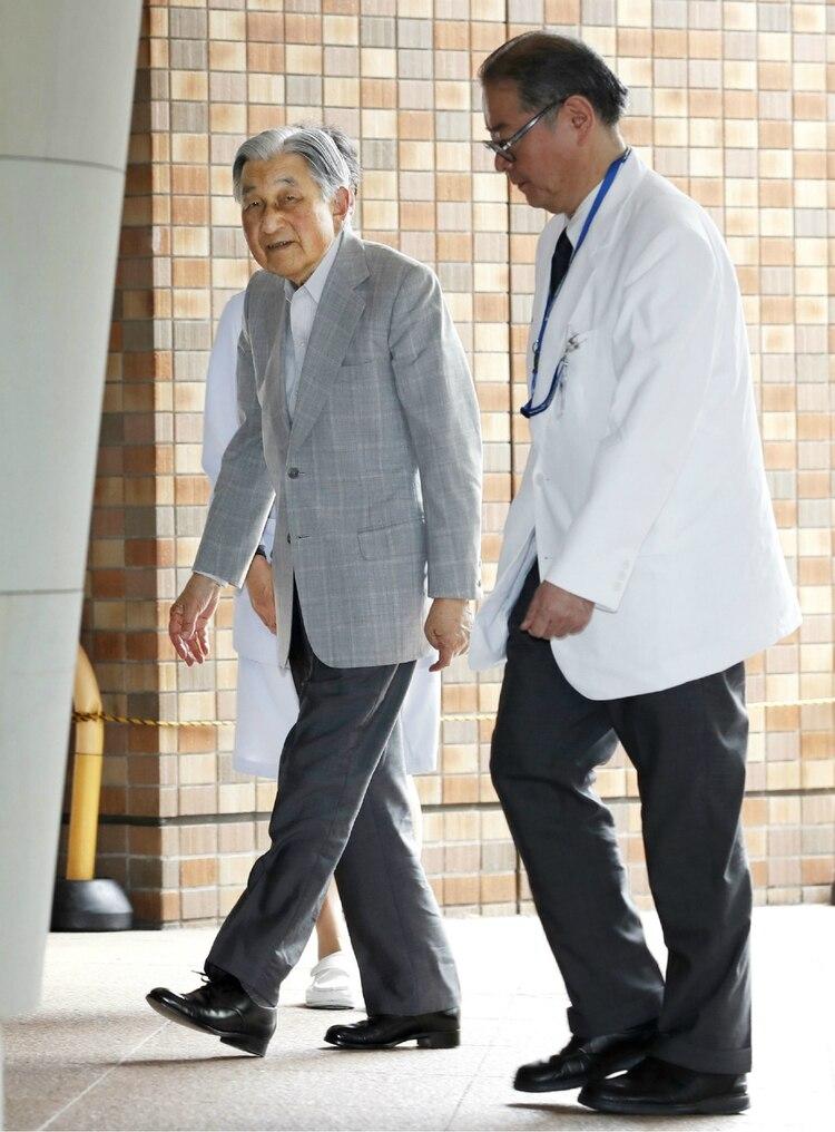 El emperador abdicó en abril de 2019, y su hijo mayor, Naruhito es el actual emperador (Foto: AFP)