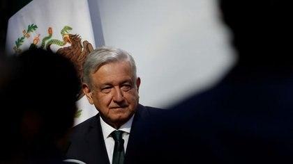Imagen de archivo. El presidente de México, Andrés Manuel López Obrador, pronuncia un discurso durante su informe anual de gobierno en el Palacio Nacional en Ciudad de México. 1 de septiembre de 2020. REUTERS / Henry Romero