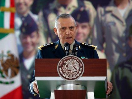 """La semana pasada, López Obrador anunció que cerraba la investigación y acusó a EEUU de """"armar"""" el caso contra Cienfuegos. (Foto: EFE)"""