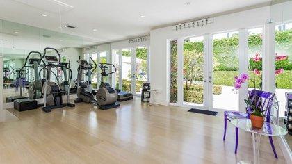 La propiedad de Shakira cuenta con un gran gimnasio (The Grosby Group)