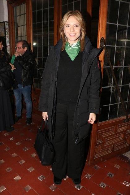 Carla Peterson (Crédito: Verónica Guerman / Teleshow)