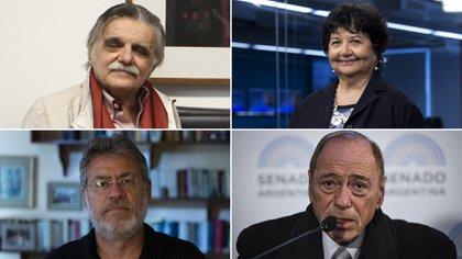 Horacio Gonzalez, Dora Barrancos, Ricardo Forster y Raúl Zaffaroni: algunos de los miembros de Comuna Argentina