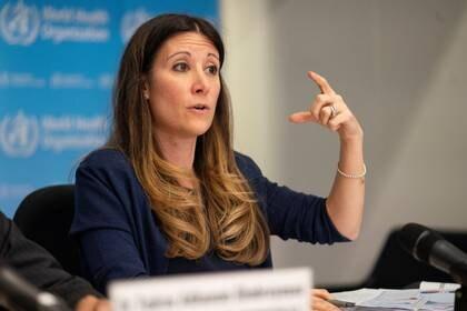 Van Kerkhove vocera de la OMS