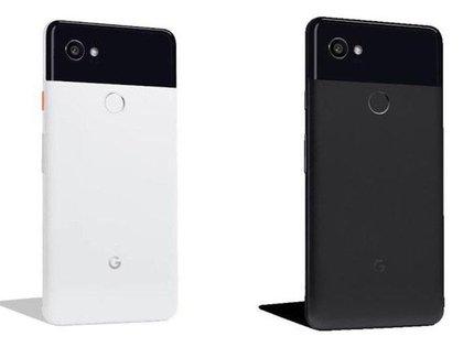 Así se ven los nuevos teléfonos de Google, Pixel 2 y Pixel 2 XL.