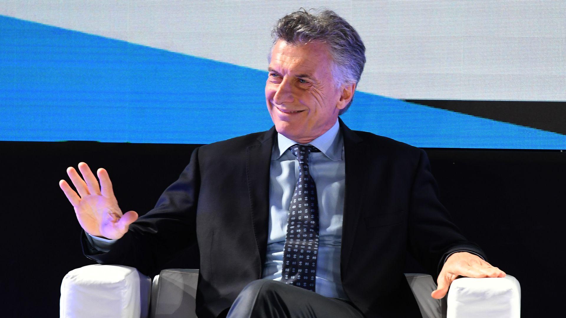 Mauricio Macri, presidente de la Nación. (Maximiliano Luna)