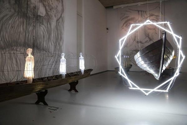 """Obra """"Geometría sagrada"""" Museo de Arte Contemporáneo Buenos Aires – Mar del Plata"""