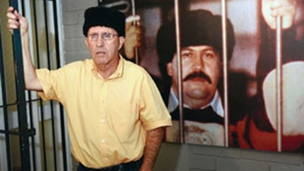 Roberto Escobar, alias 'El Osito', hermano del mafioso y administrador del lugar.