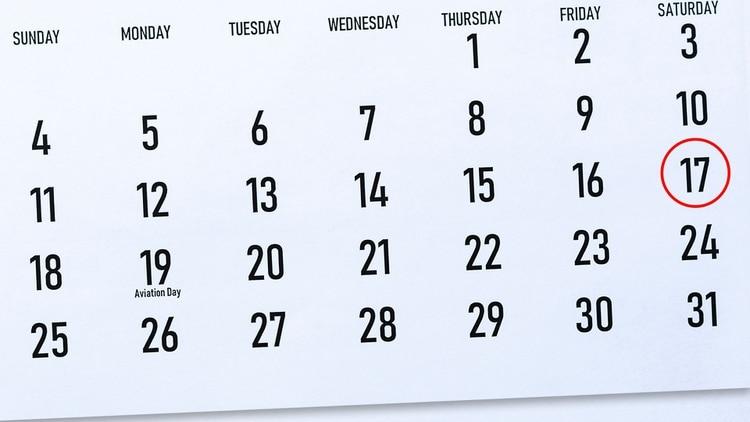 Calendario Agosto 2019 Con Feriados.Es Feriado El Sabado 17 De Agosto O Se Traslada Al Lunes