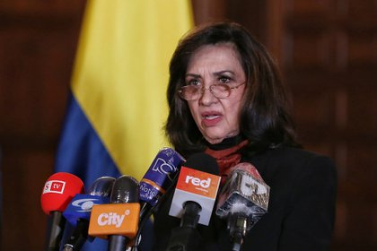 Canciller Claudia Blum (Colprensa - Camila Díaz)