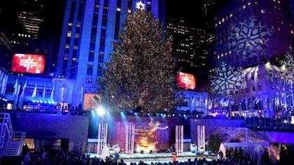 Navidad en el Rockefeller Center. Theo Wargo/Getty Images/AFP