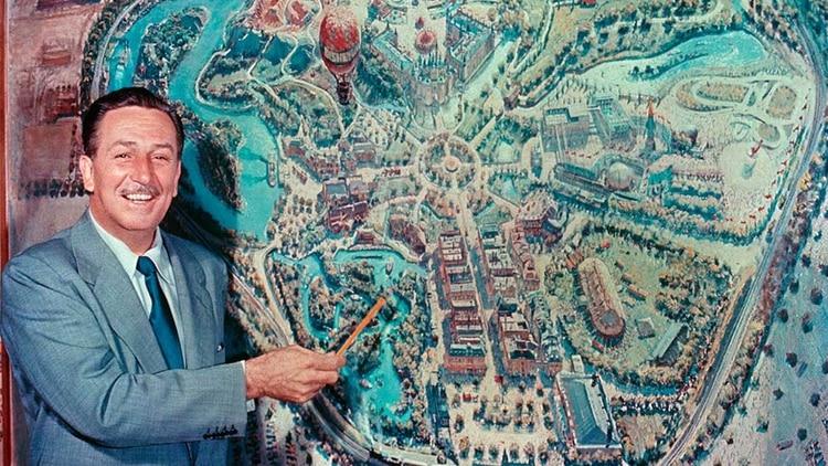 Poco antes de morir estaba terminando de diseñar su parque temático