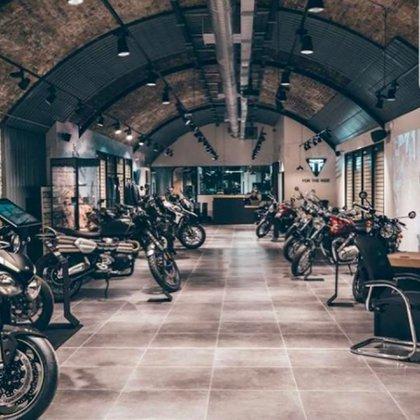El museo de motos de Birmingham, de los más importantes del mundo.