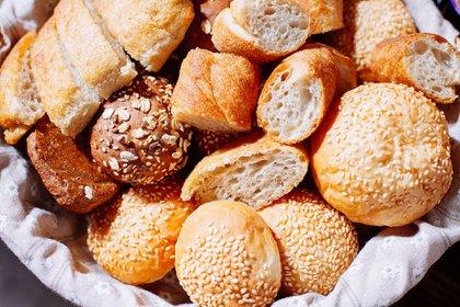 Los panes aunque sean de diferentes tipos, tienen las mismas calorías