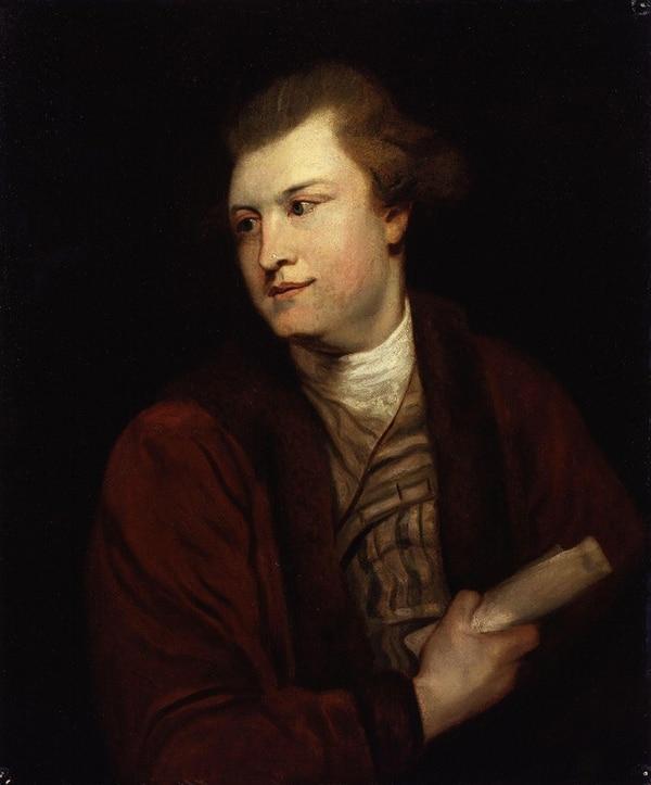Un joven Macpherson, por Sir Joshua Reynolds