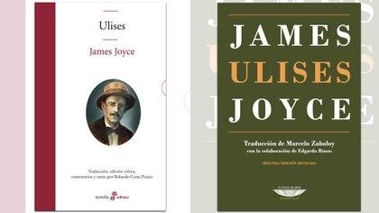 """El """"Ulises"""" de Joyce traducido por Costa Picazo (Edhasa) y Zabaloy (El Cuenco de Plata)"""