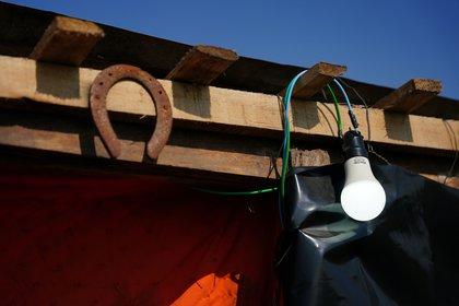 Luz eléctrica en una de las casillas. (Franco Fafasuli)