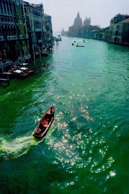 La coloración del Gran Canal se convirtió en un hito del Land Art