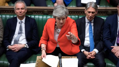 La premier británica Theresa May (AFP)