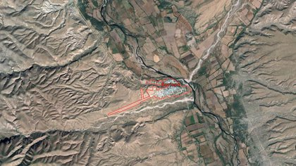 La zona de Bavispe, en Sonora, donde sucedió el ataque. (Foto: captura de pantalla Google Maps)