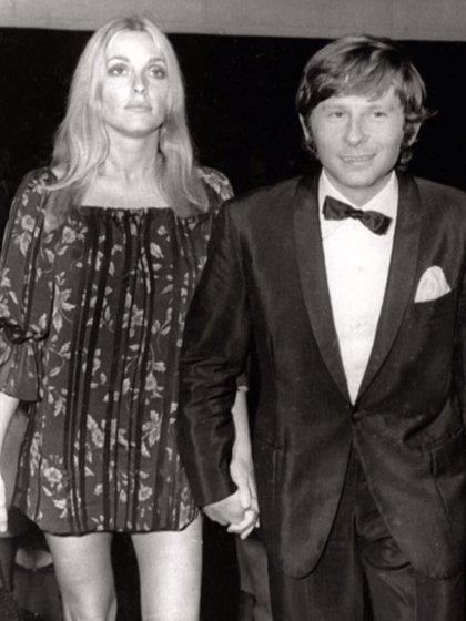 Sharon Tate y Polanski