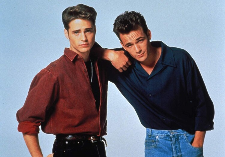 """Luke Perry se hizo famoso con Dylan McKay en """"Beverly Hills 90210"""" en los años 90"""