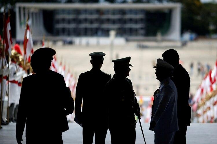 Soldados del Ejército brasileño (REUTERS/Ueslei Marcelino/File Photo)