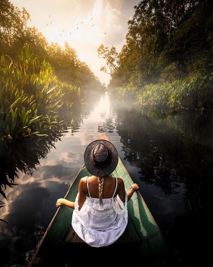 . Este año será testigo de viajeros que buscan algo completamente diferente, ya sea una estadía extravagante en un iglú, un barco, una casa en árboles, o intentar hacer una actividad nueva que sus amigos no conozcan (Instagram / @indtravel)