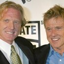 Mandatory Credit: Photo by Startraks/Shutterstock (428943j) Robert Redford (R) with son, James Redford FIRST ANNUAL 'SHARE THE BEAT' GALA TO EDUCATE THE PUBLIC ON THE IMPORTANCE OF ORGAN DONATION, CICADA RESTAURANT, LOS ANGELES, AMERICA - 20 SEP 2003