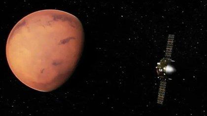 La sonda china Tianwen-1 ha superado los 400 millones de kilómetros de viaje desde la Tierra en 163 días (ANEC)
