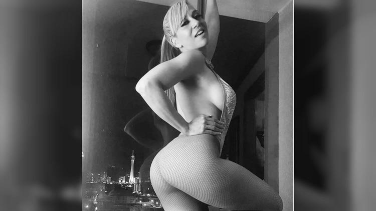 El Instagram de Noelia se convirtió en un catálogo de imágenes eróticas donde presume su figura.