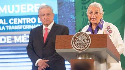 Desde 2018, Sánchez Cordero es la secretaria de Gobernación del gobierno de AMLO (Foto: Victoria Valtierra/ Cuartoscuro)