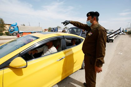 El coronavirus ha llegado a Irak (REUTERS/Alaa al-Marjani)