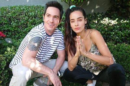 """Ambos actores estelarizan la cinta """"Ahí te encargo"""" que ha tenido una aceptación favorable en la plataforma Netflix (Foto: Instagram @esmepimentel)"""