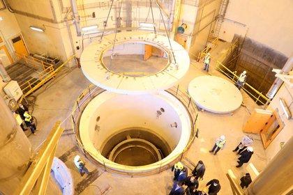 Imagen de archivo: Vista de un reactor nuclear en Arak, Irán. 23 de diciembre de 2019. WANA (West Asia News Agency) via REUTERS. ATENCIÓN EDITORES -  ESTA IMAGEN HA SIDO ENTREGADA POR UN TERCERO.