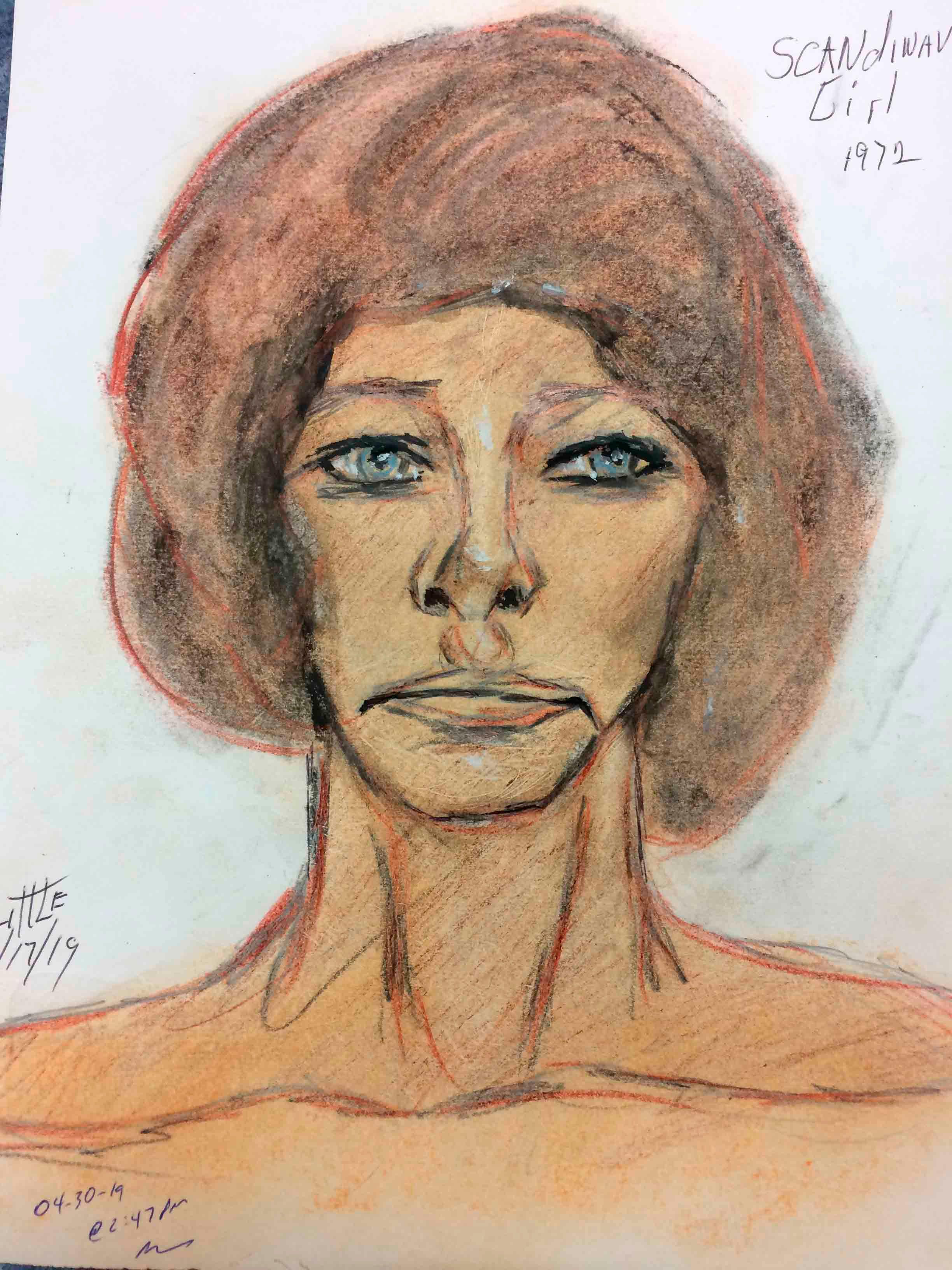 Mujer blanca asesinada en 1970o 1971 (FBI)