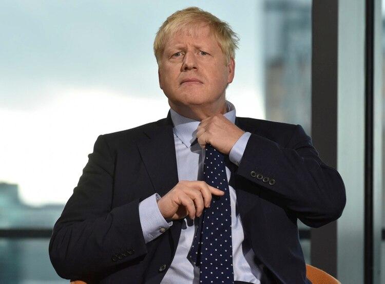 Boris Johnson (Photo by JEFF OVERS / BBC / AFP)