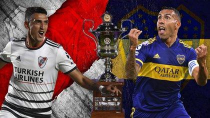 River y Boca, los protagonistas de la definición del campeonato