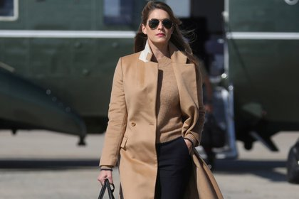 Hope Hicks (REUTERS/Leah Millis)