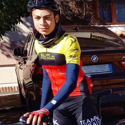 Giuseppe Milone era una de las mayores promesas en Italia y era integrante del equipo de Vincenzo Nibali (@vincenzonibali)