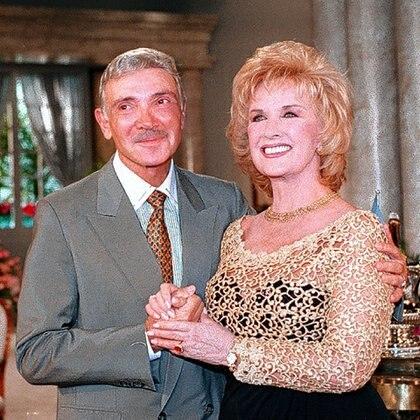 Mirtha con Alejandro Romay, el zar de la televisión