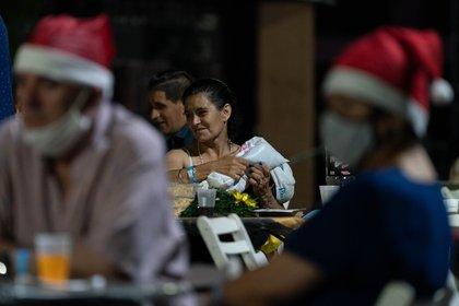 A pesar de las necesidades, la noche tuvo un espíritu festivo (Foto: Franco Fafasuli)