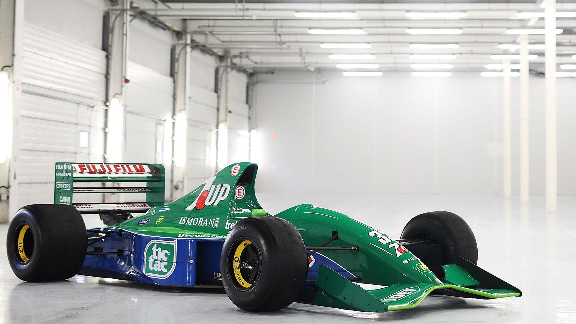 Primer auto de Schumacher