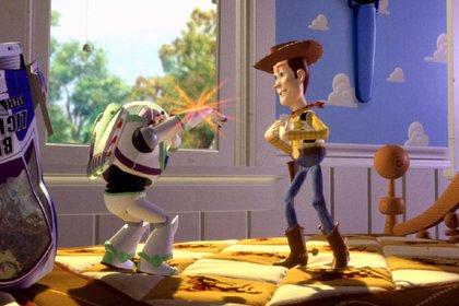 "Buzz Lightyear y Woody en ""Toy Story"" (Foto: Pixar/ Disney)"