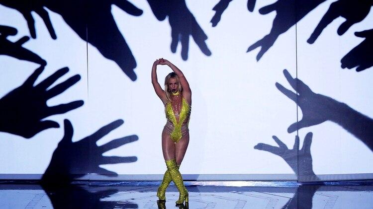 Britney Spears en los MTV Video Music Awards, 2016 (REUTERS)