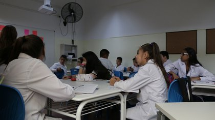 Los chicos de primer año de la Escuela Nº 22 (Lihuel Althabe)