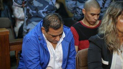 Los dos acusados: Juan Pablo Offidani y Matías Farías (Christian Heit)