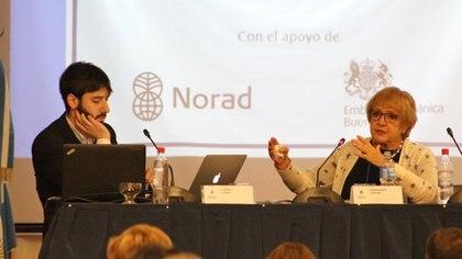 La parlamentariabritánicaMargaret Hodge fue la invitada especial ala Conferencia