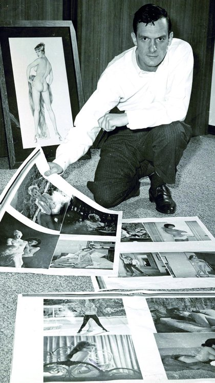 Hefner buscaba un nuevo tipo de publicación para el público masculino (Captura de TV)
