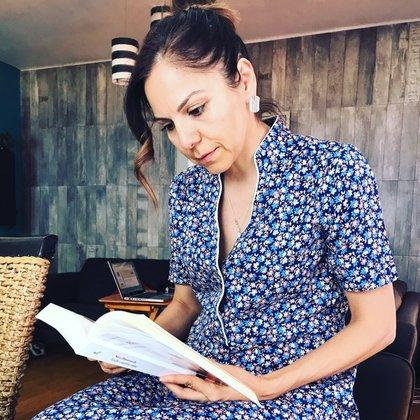 Olga Trujillo, editora de Diosas Olímpicas (Foto: Twitter @depormedias)