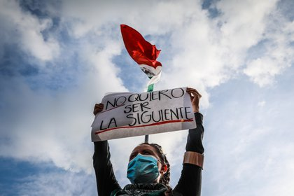 During November there was an increase in femicides compared to October.  (Photo: David Guzmán / EFE)